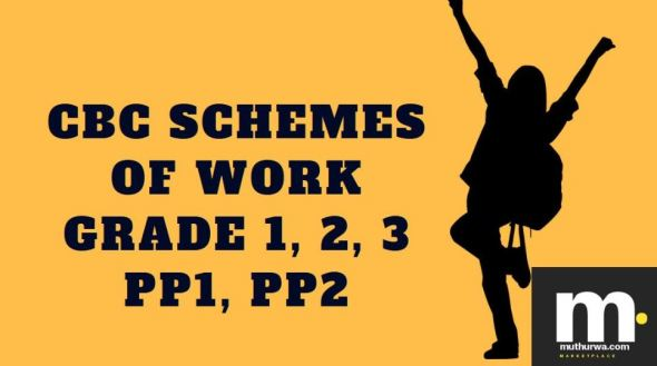 Mathematics cbc schemes of work for Term 1 Grade two 2019