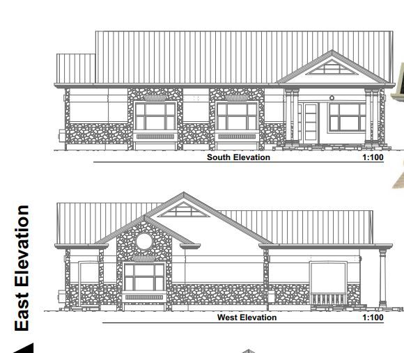 Cheap 3 bedroom House Plan for small and big Family in Kenya