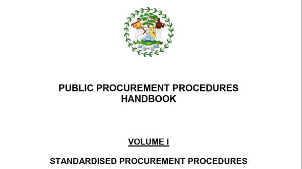 Standardized Public Procurement Procedures Handbook (Kenya)