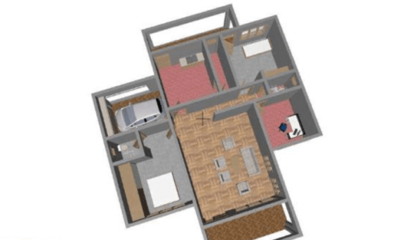 simple two bedroom house plans in kenya floor plans
