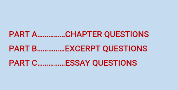Question and Answers Guide to the Blossoms of the Savannah