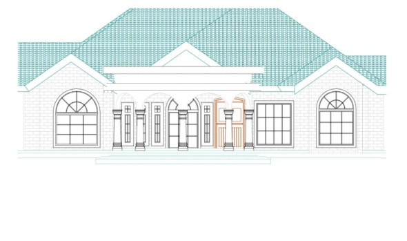 Cheap 3 Bedroom house plan with study room