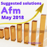 CPA Advanced Financial Management questions and answers(May 2018)
