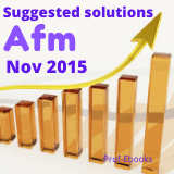 CPA Advanced financial management questions and answers (Nov 2015)