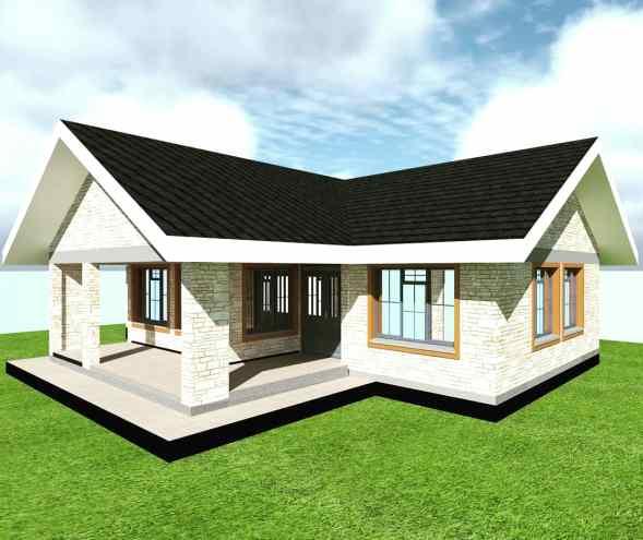3 Bedroom Standard house plan