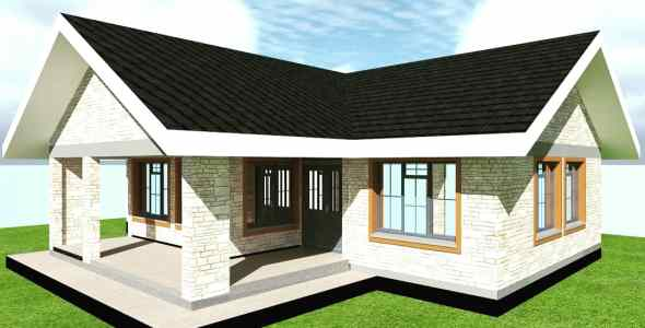3 Bedroom Standard house plan