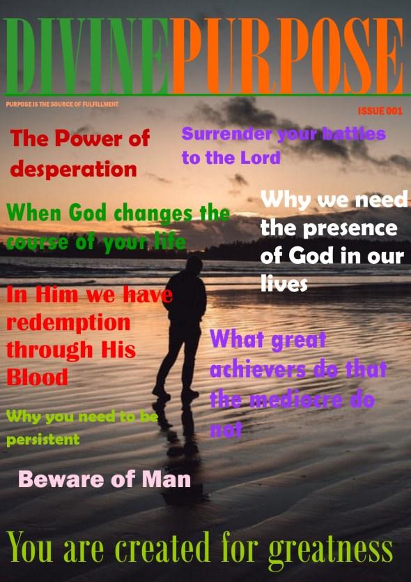 Divine Purpose Magazine - 001