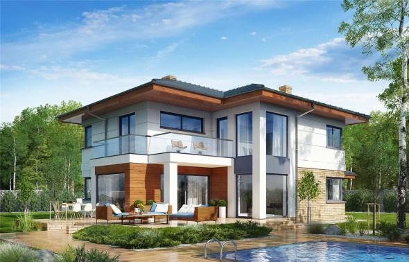 3 Bedroom Mansion House Plan