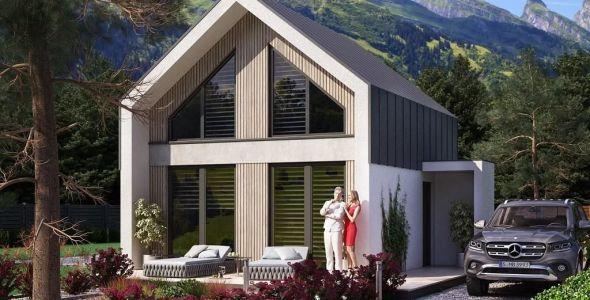 1 Bedroom Cottage House Plan