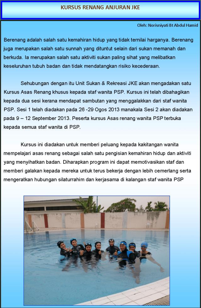 Polo Air Adalah : adalah, KURSUS, RENANG, Buletin, Politeknik, Seberang, Perai, Mutiara