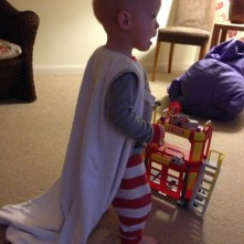 Super toddler