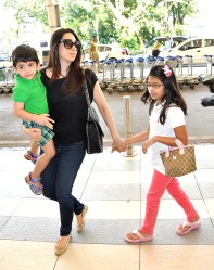Karishma Kapoor with kids