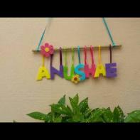 Rakhi Gift: Personalised nameplates from Craft World