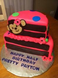Half Birthday Party Idea