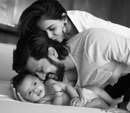 Riteish Deshmukh's baby photos