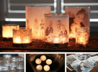 Photo Display OPtions: family-luminaries