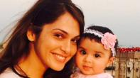 Isha Koppikar with daughter