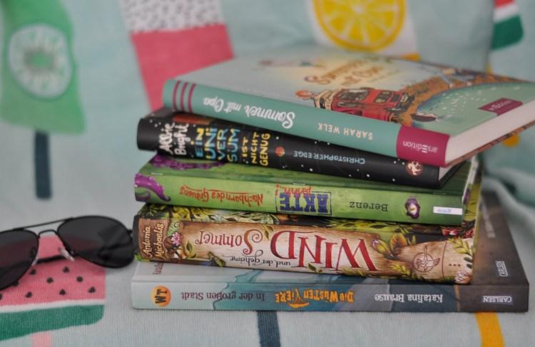 Lesereise - Unsere schönsten Bücher für den Sommer #kidnerbuch #buchtipp #lesen #sommer #urlaub #abenteuer #ferien #schulferien