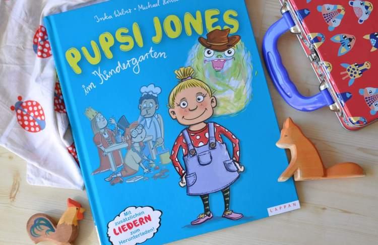 Herrliches Buch über das Pupsen – Pupsi Jones im Kindergarten