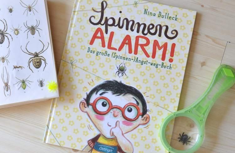 Buchtipp: Mit einem Trick nie mehr Angst vor Spinnen – Spinnenalarm!