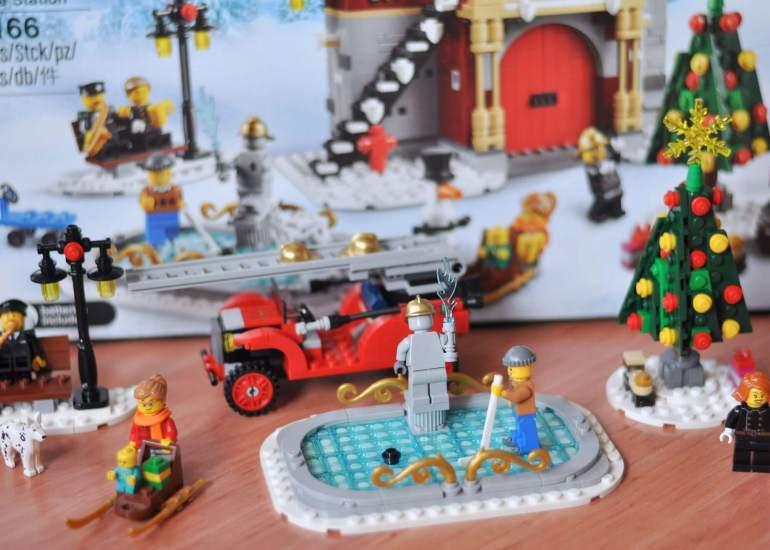 *Werbung* Endlich Winter: Zusammen mit der Familie Lego bauen - Gemeinsam schwierigere Sets bauen und Spaß haben. #lego #bauen #winter #weihnachten #feuerwehr #spielen #kinder