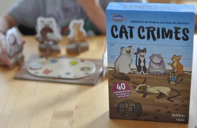 Hinweise kombinieren & Täter finden: Cat Crimes Logikspiel