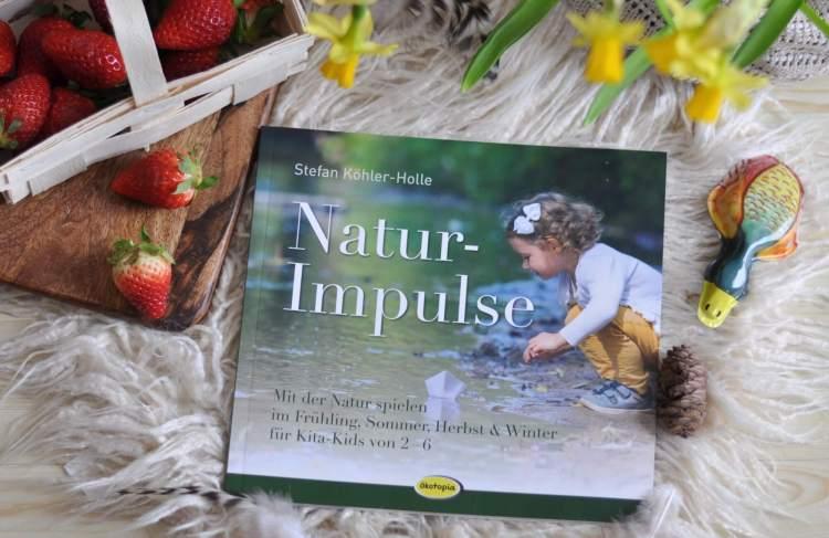 54 Ideen, um die Natur zu endecken, mit Naturmaterialien zu spielen und zu basteln. Dieses Buch inspiriert mit vielen Fotoaufnahmen und wenig Text, ideal für Eltern und Erzieher mit Kindern ab 2 Jahren. #natur #experimente #basteln #montessori #kindergarten #basteln #garten #kinder #spiele