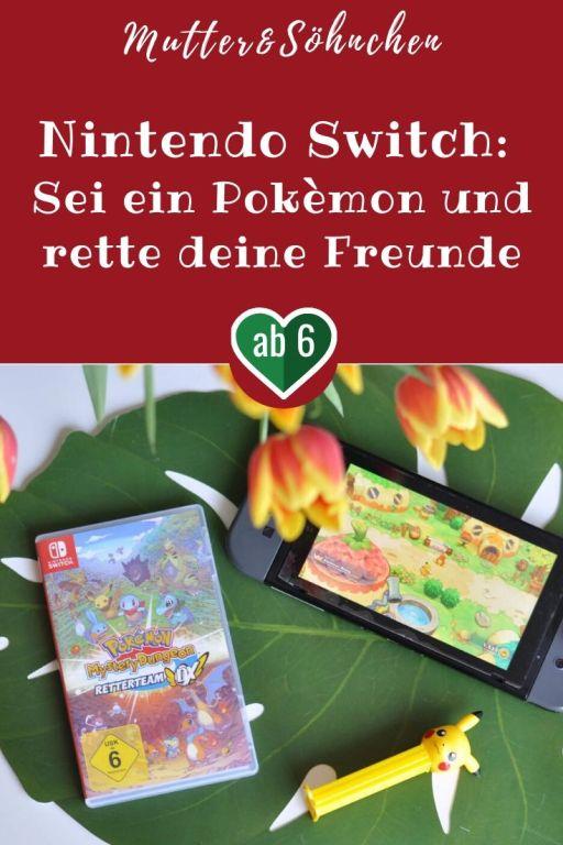 Im Pokémon-Dorf gilt es, neue Freundschaften zu schließen und die Gegend zu erkunden. An vielen Stellen wird immer wieder Hilfe benötigt, so dass man sich aufregende Missionen anschließen kann. Hier geht es darum, verlorene Pokémon in gefährlichen Dungeons aufzuspüren, zu retten und nach Hause zu bringen. #retterteam #pokemon #pikachu #helfen #zocken #spielen #nintendo #switch