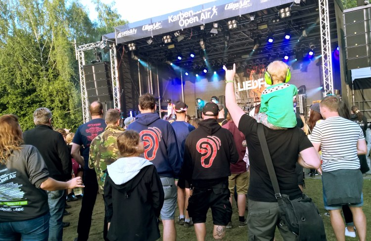 Open Air Festival mit Kindern fetzt