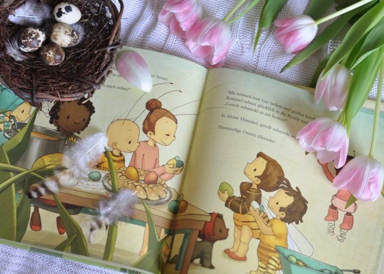 Die kleine Hummel Bommel feiert Ostern #Kinderbuch #Ostern #Insekten #frühling
