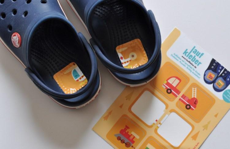Schuhe alleine anziehen – ohne Entenfüße #Laufkleber