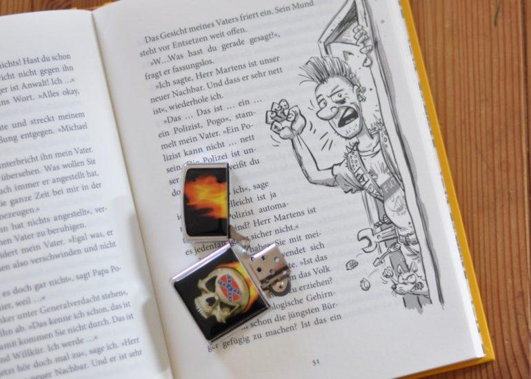 Pogo und Polente - Fahrraddiebstahl und jede Menge Vorurteile,Kinderbuch ab 8 Jahren #kinderbuch #punk #detektiv #polizei #buchtipp