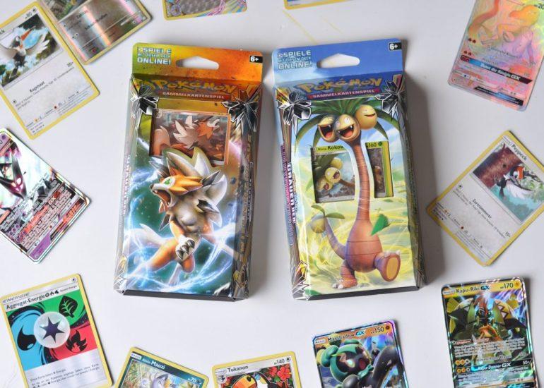 Pokémon Themendecks - Tropenwucht und Zwielichtklaue
