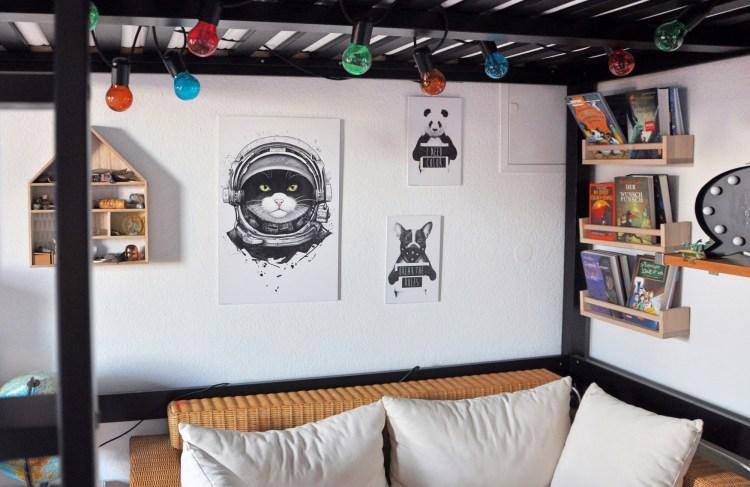 4 Wandideen mit Tiermotiven – wir stylen unsere Wände mit einfachen Mitteln um