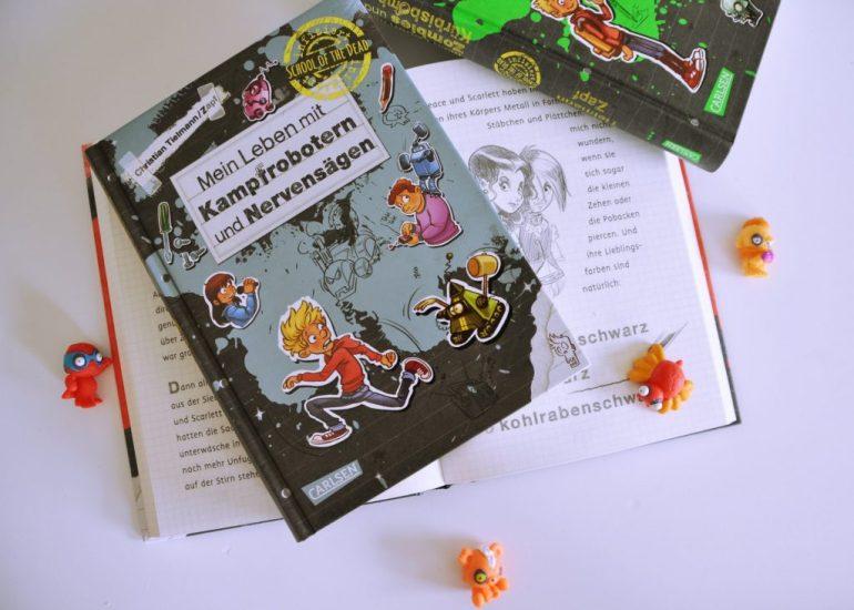 Was Max mit Schul-Zombies zu tun hat - Interview mit Kinderbuchautor Christian Tielmann #autor #kinderbuch #vorlsen #interview #buch #jungs #schule