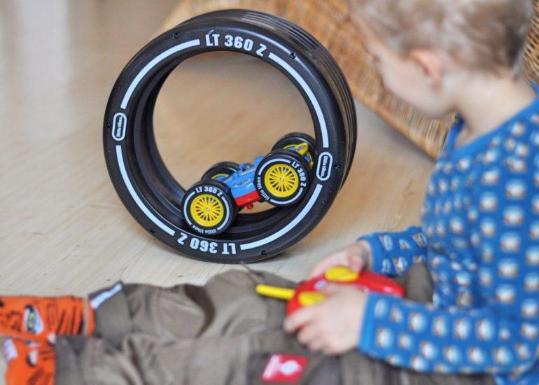 Tire Twister - ferngesteuertes Auto für Kidner ab 3 Jahren, Produkttest auf Mutter&Söhnchen