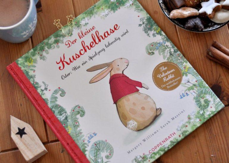 Der kleine Kuschelhase, Kinderbuch zum Vorlesen für die Weihnachtszeit ab 3 Jahre, Weihnachtsbuch, in dem ein Kuscheltier lebendig wird, mehr außergewöhnliche Kinderbücher für Weihnachten auf dem Blog