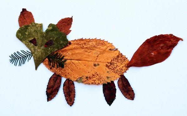 Basteln Mit Kindern Herbstliche Blätter Bilder Muttis