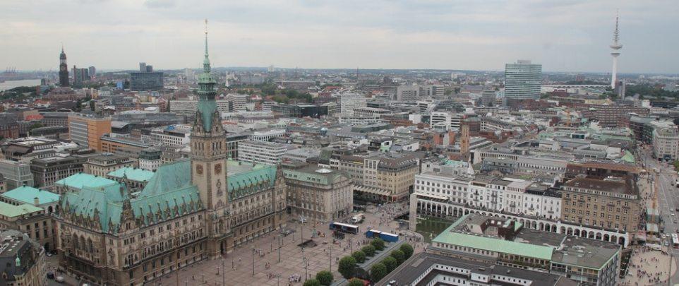 Hamburg: Panorama von St. Petri