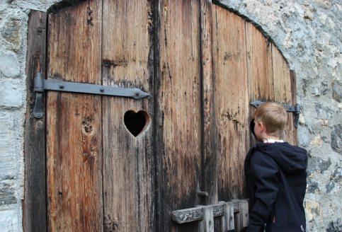 Erlebnisburg Hohenwerfen: Ja, was tut der Ritter da drin?