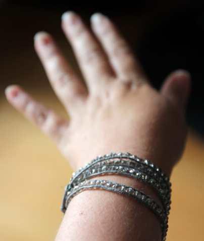 Bling-bling-Armband