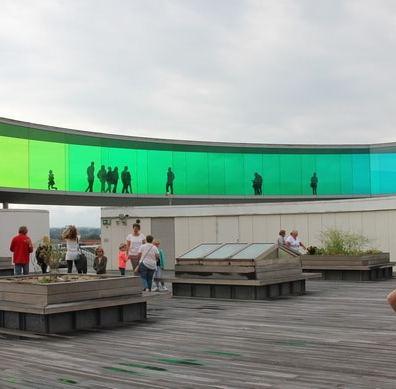 Haustausch in Dänemark: Aarhus ARoS Rainbow Panorama