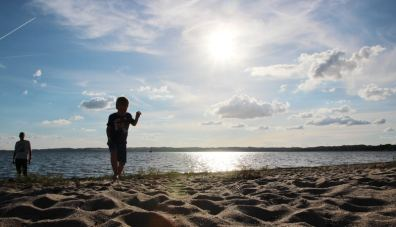 Haustausch in Dänemark: Strand bei Ebeltoft