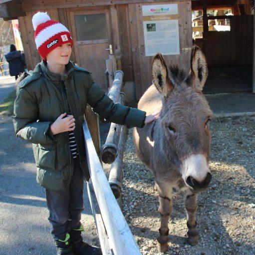Kinderhotel Oberjoch: Esel Emil
