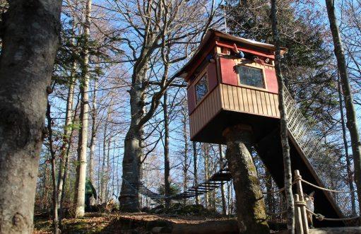 Kinderhotel Oberjoch: Kletterpark