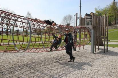 Radeln am Bodensee, Arbon/Schweiz, Bodensee mit Kind
