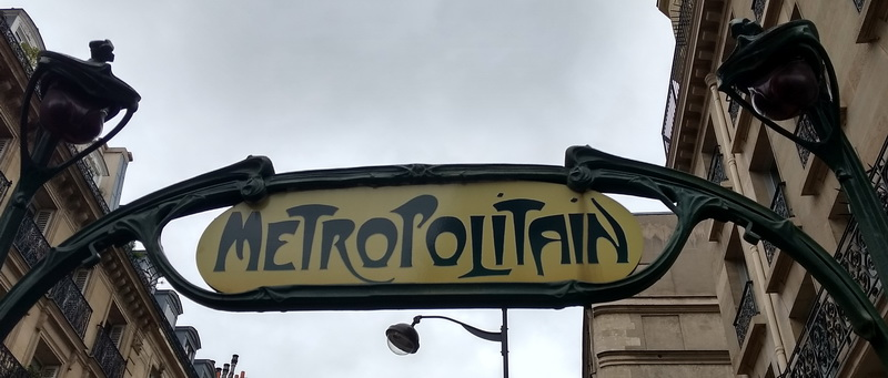Paris mit Kind | Metro