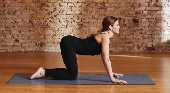 Yoga mit Kind: 5 einfache Übungen für Mutter und Kind: Kuh