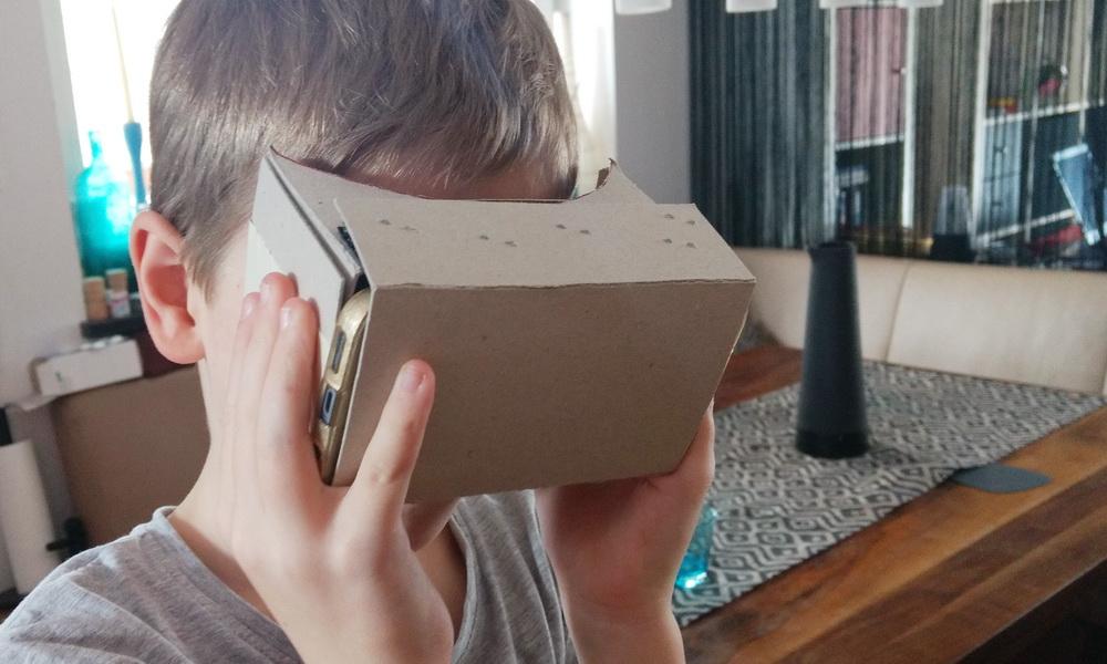 DIY mit Kind: VR-Brille selbst basteln