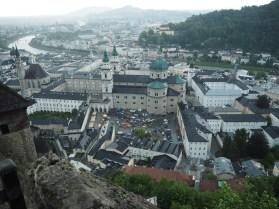 Blick von der Festung Hohensalzburg